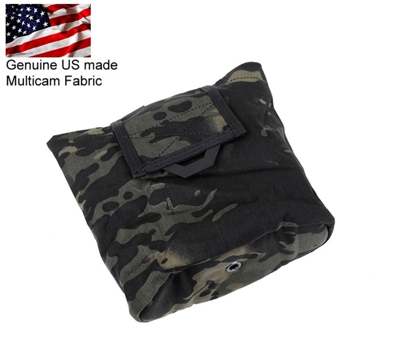 Picture of TMC Lightweight Multi Function Folding Dump Pouch (Multicam Black)
