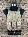 Picture of FLYYE LT6094K Assault Vest with Pouch Set (AOR1)
