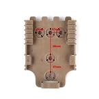 Picture of TMC Quick Locking Receiver Plate (DE)