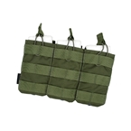Picture of TMC Tactical Open-Top Triple Mag Pouch (OD)