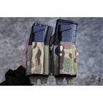 Picture of TMC Lightweight 5.56 + 9mm Shorty PWI Mag Pouch Set (Multicam)