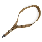 Picture of TMC Lightweight Adjustable Single Point Padded Gun Sling (CB)