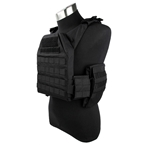 Picture of TMC Flowing Light Plate Carrier (Black)