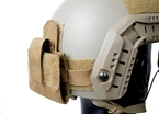 Picture of TMC Lightweight Helmet Mounted 4 AA Battery Pouch (CB)