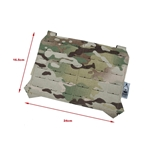 Picture of The Black Ships Lightweight Laser Cut Molle Front Panel (Multicam)