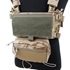 Picture of TMC Lightweight Expansion Accessory Set for Modular Lightweight Chest Rig (Black)