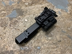 Picture of SOTAC Wilcox Type G33 Magnifier Flip Mount and High Risers Mount Rail (Left, Black) G23 CAG Style
