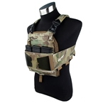 Picture of The Black Ships Modular Lightweight Laser Cut Plate Carrier (Multicam)