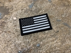 Picture of Warrior USA Flag Left Reflective Patch mbss mlcs aor1 eagle (Free Shipping)