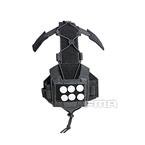 Picture of FMA Universal Agility Bridge Tactical Helmet Pouch (Black)