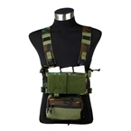 Picture of TMC Modular Lightweight Chest Rig Full Set (Woodland)