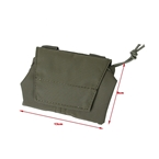 Picture of The Black Ships Lightweight Foldable Dump Pouch (RG)