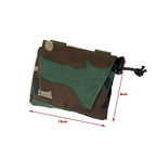 Picture of The Black Ships Lightweight Foldable Dump Pouch (Woodland)