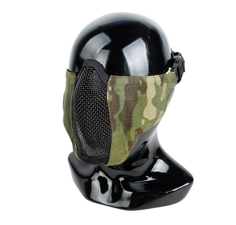 Picture of TMC PDW Soft Slide 2.0 Mesh Mask - Multicam Tropic