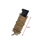 Picture of TMC Tactical Assault Combination Extended Single Pistol Mag Pouch (CB)