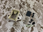 Picture of FMA Wilcox Type 3 Hole Shroud P/N (Dark Earth)
