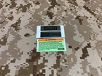 Picture of Warrior Replacement MSA Sordin Headset Sticker (Free shipping)