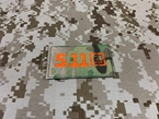 Picture of Warrior 5.11 Reflective Patch (Multicam) (Free Shipping)