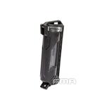 Picture of FMA Molle Battery Storage Case Bottle Plastic Holder (Black) for CR123 Battery