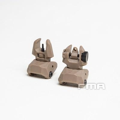 Picture of FMA FAB Defense Front & Rear Backup Sight Sets (DE)