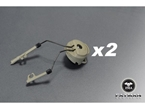 Picture of FMA OPS CORE Helmet Rail Adapter Set For Peltor Comtac Gear Headset Holder Duty (FG)